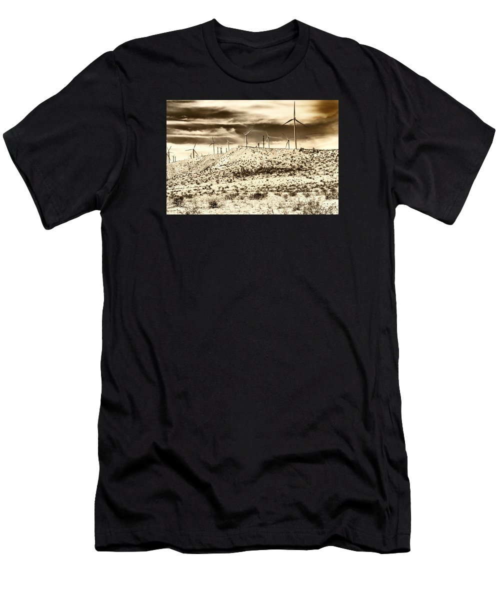 Featured Men's T-Shirt (Athletic Fit) featuring the photograph No Place Like Home 1 by William Dey