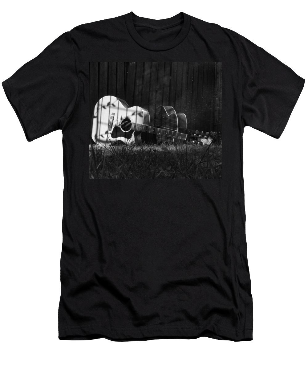 Music Men's T-Shirt (Athletic Fit) featuring the photograph Nostaglia by Stacie Adams