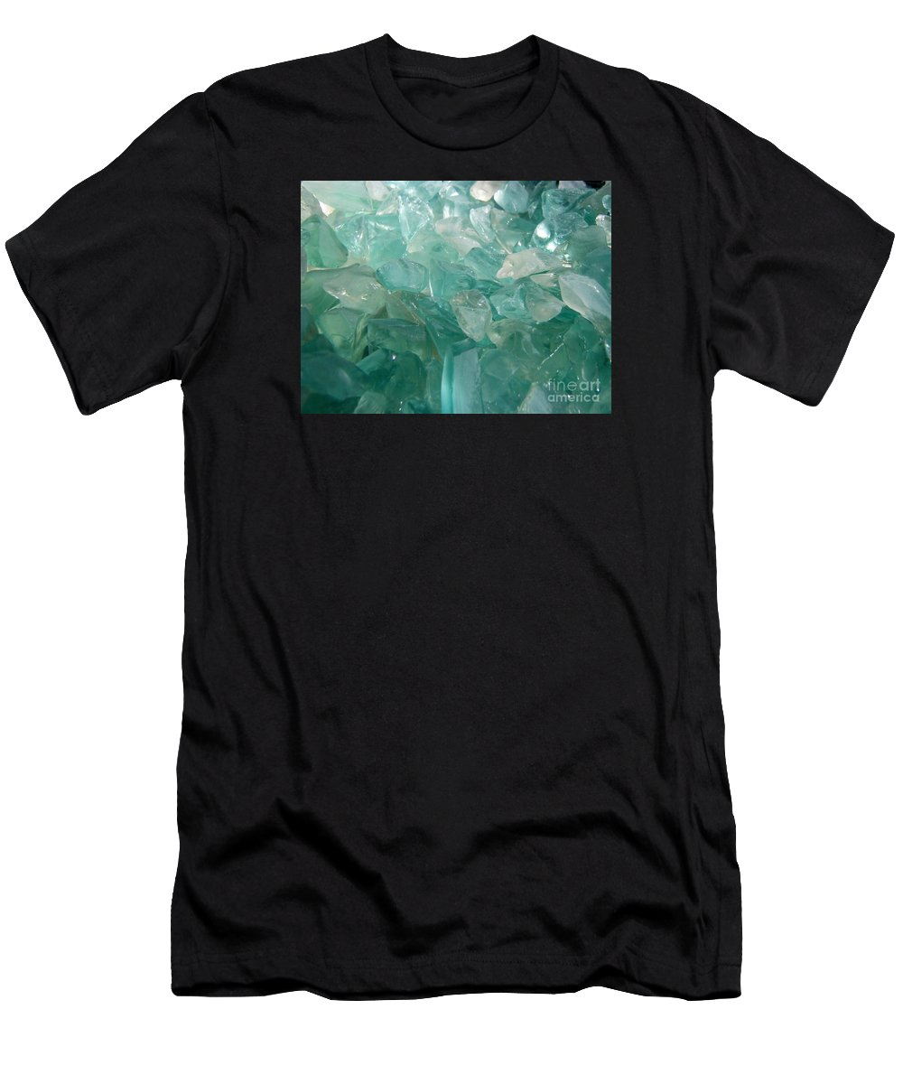 Ocean Sea Glass Teal Light T-Shirt featuring the photograph Ocean Dream by Kristine Nora