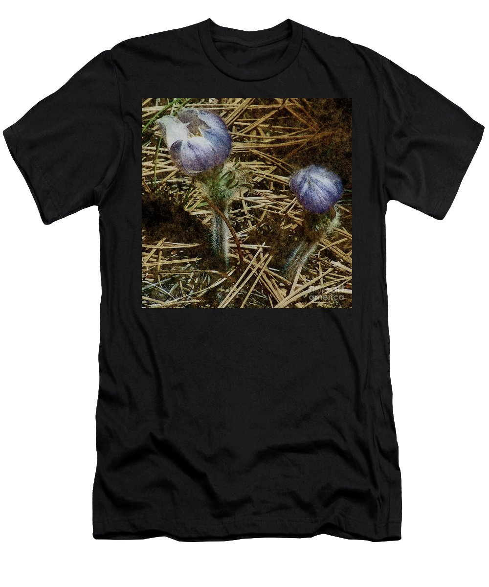 Colorado Men's T-Shirt (Athletic Fit) featuring the painting On The Forest Floor by RC DeWinter
