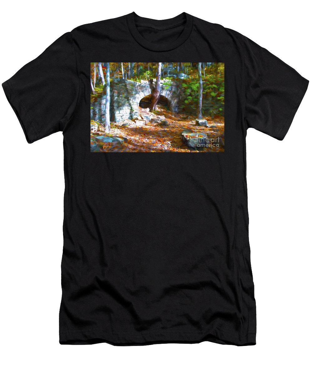 Arch Men's T-Shirt (Athletic Fit) featuring the photograph One Always Has To Be Different by Paul W Faust - Impressions of Light