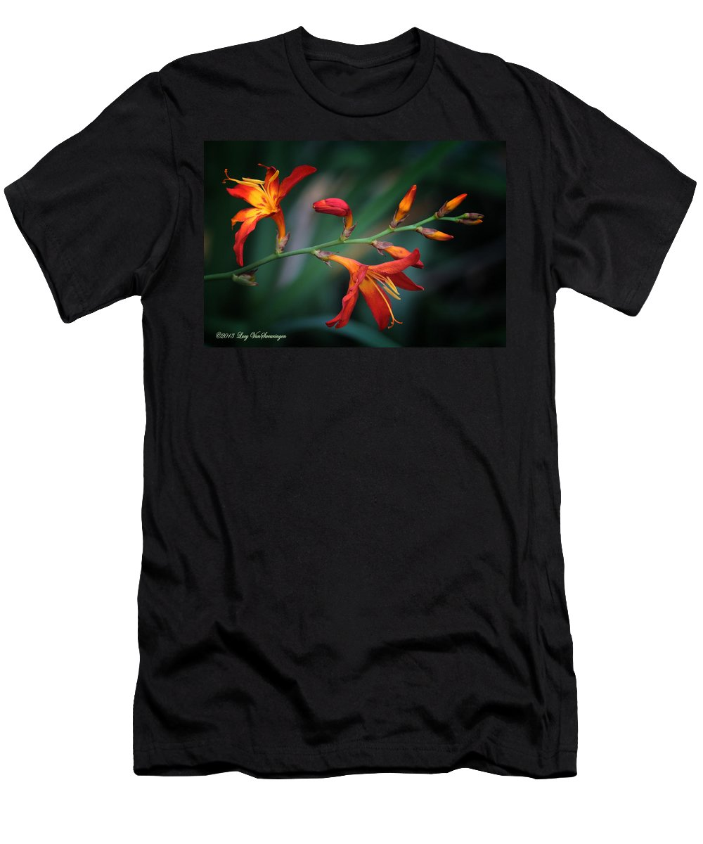 Lily T-Shirt featuring the photograph Orange Lily by Lucy VanSwearingen