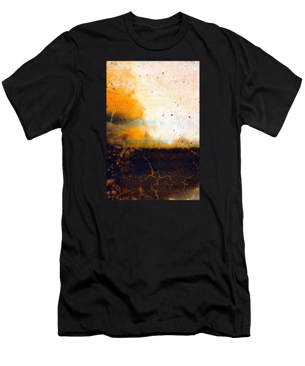 Abstract Men's T-Shirt (Athletic Fit) featuring the photograph Orange Tree by Marcia Lee Jones