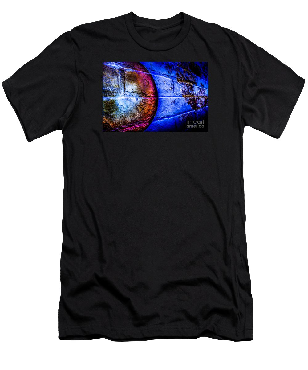 Men's T-Shirt (Athletic Fit) featuring the photograph Orbiting The Wall by Michael Arend