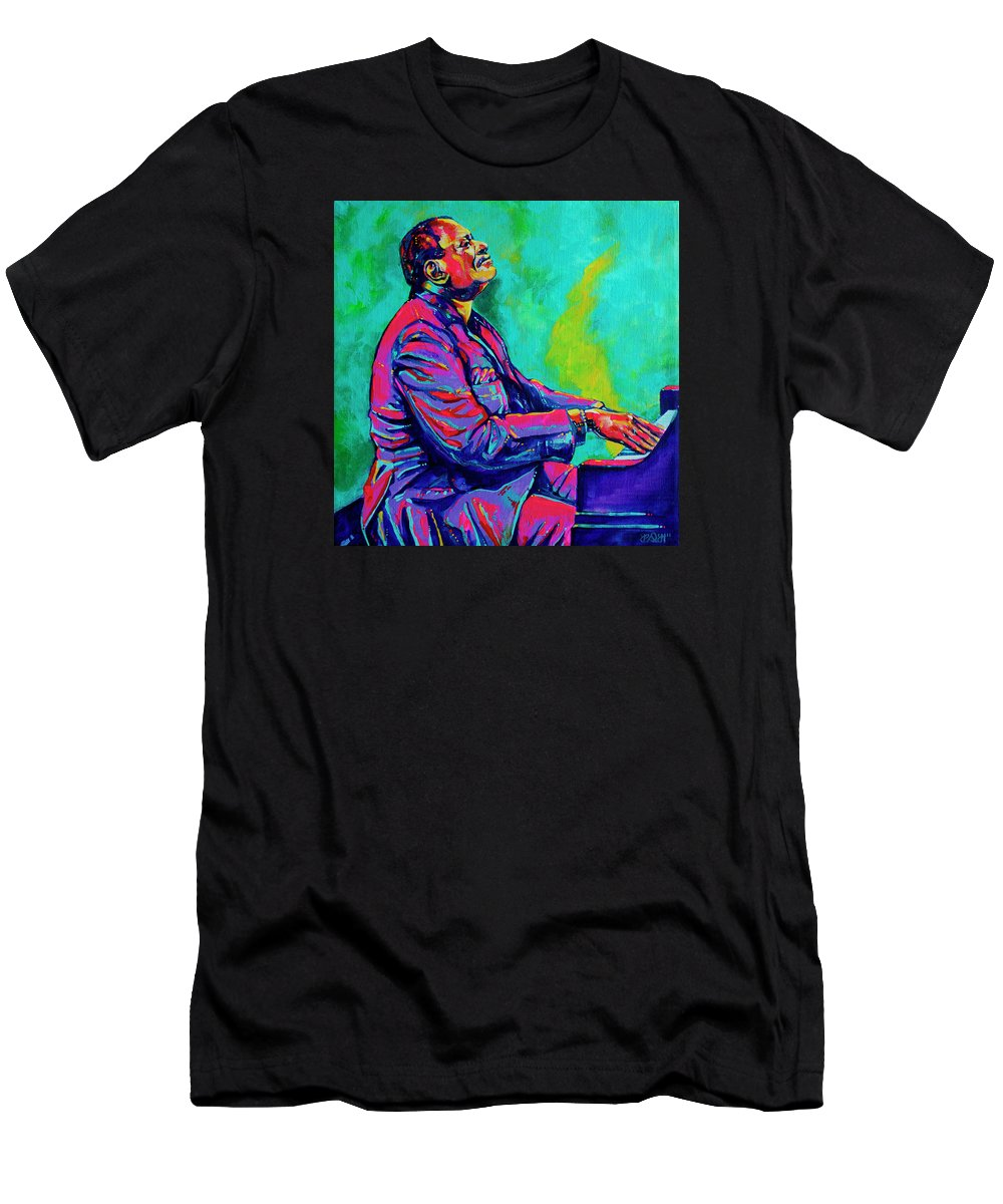 Acrylic Men's T-Shirt (Athletic Fit) featuring the painting Oscar by Derrick Higgins