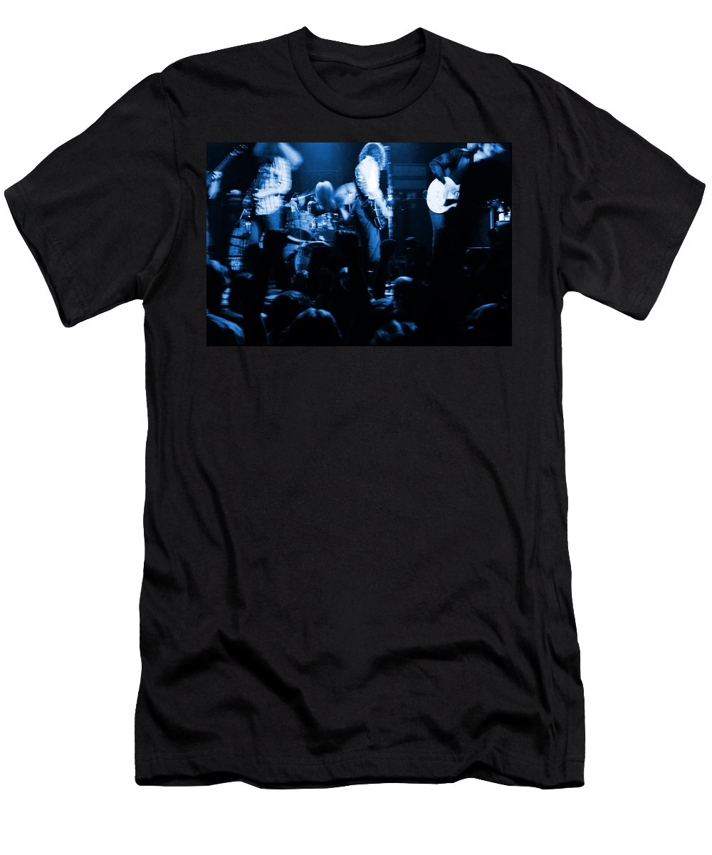 Outlaws Men's T-Shirt (Athletic Fit) featuring the photograph Outlaws #14 Blue by Ben Upham