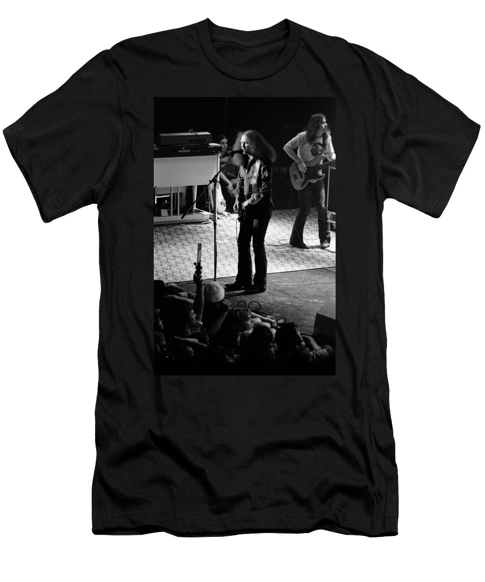 Outlaws Men's T-Shirt (Athletic Fit) featuring the photograph Outlaws #17 by Ben Upham