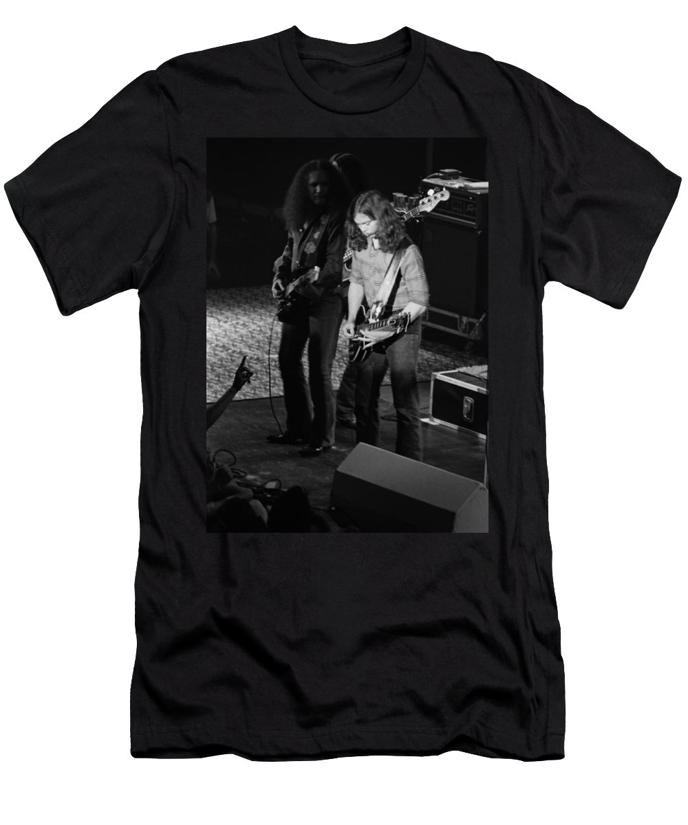 Outlaws Men's T-Shirt (Athletic Fit) featuring the photograph Outlaws #18 by Ben Upham