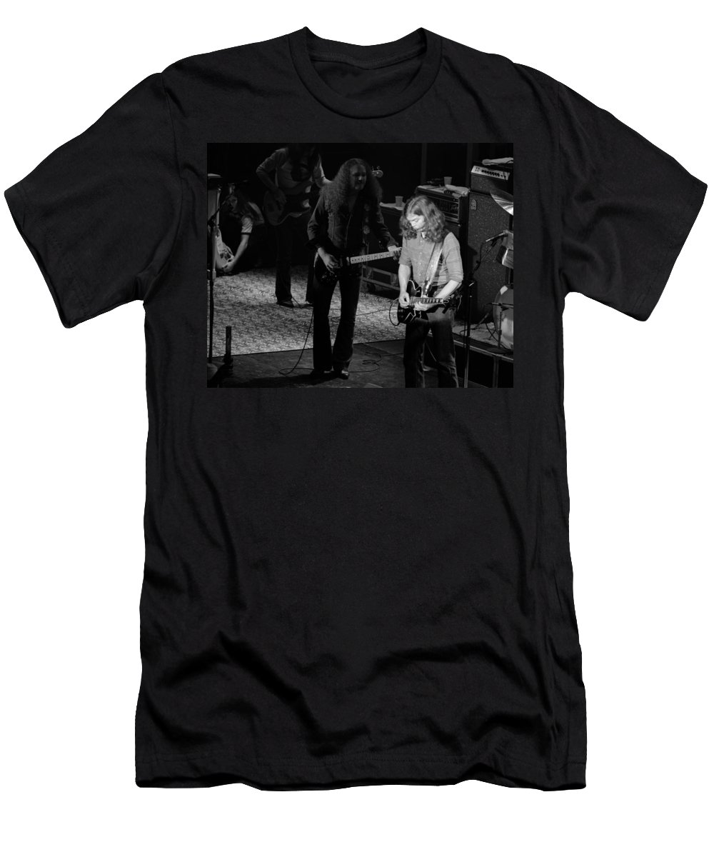 Outlaws Men's T-Shirt (Athletic Fit) featuring the photograph Outlaws #20 Crop 2 by Ben Upham