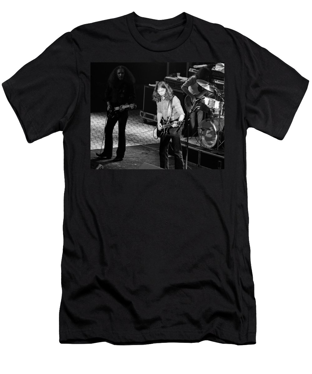 Outlaws Men's T-Shirt (Athletic Fit) featuring the photograph Outlaws #21 Crop 2 by Ben Upham