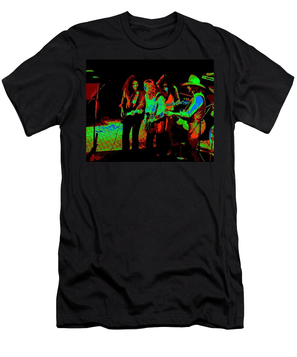 Outlaws Men's T-Shirt (Athletic Fit) featuring the photograph Outlaws #26 Crop 2 Art Cosmic by Ben Upham