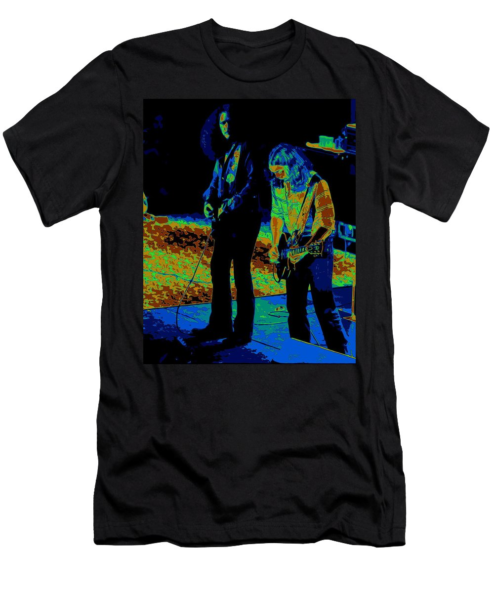 Outlaws Men's T-Shirt (Athletic Fit) featuring the photograph Outlaws #31 Crop 2 Art Cosmic by Ben Upham