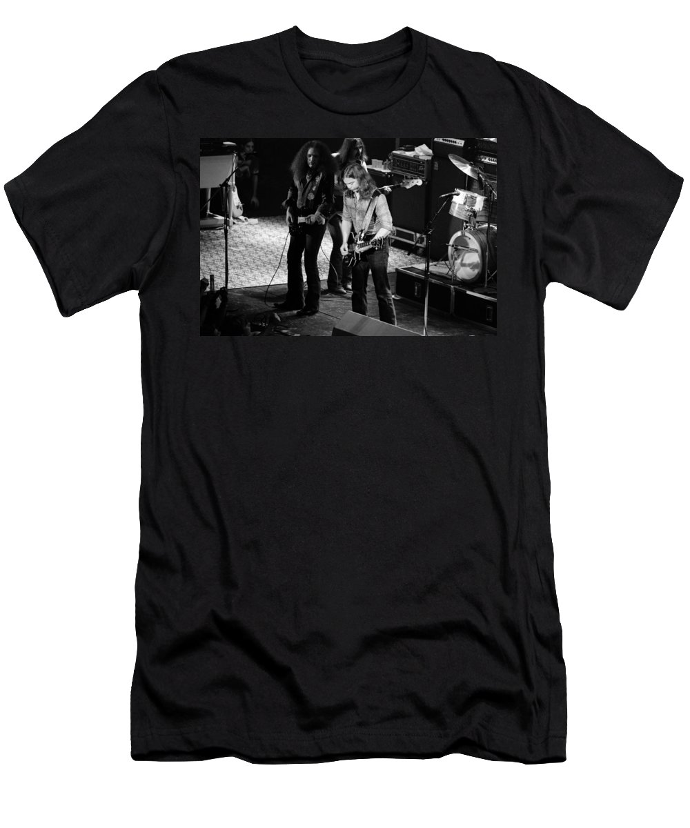 Outlaws Men's T-Shirt (Athletic Fit) featuring the photograph Outlaws #32 by Ben Upham