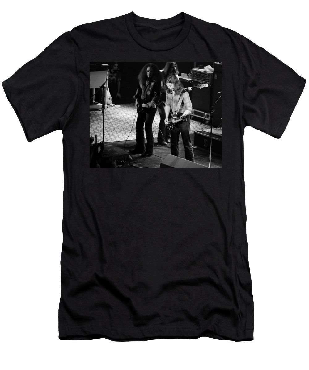Outlaws Men's T-Shirt (Athletic Fit) featuring the photograph Outlaws #32 Crop 2 by Ben Upham