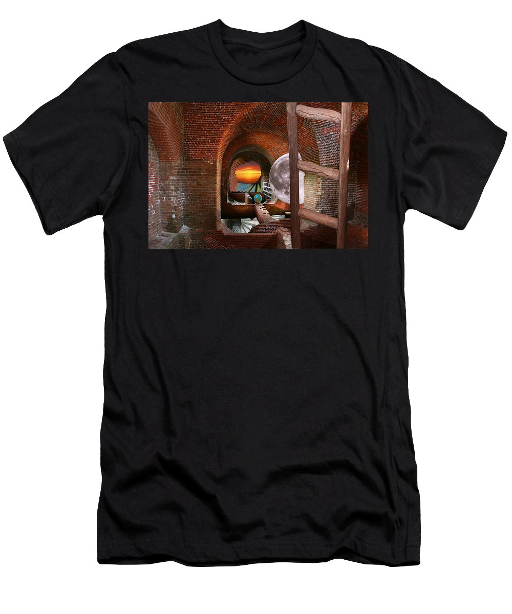 S Carolina Men's T-Shirt (Athletic Fit) featuring the photograph Overall Master Plan by Greg Wells