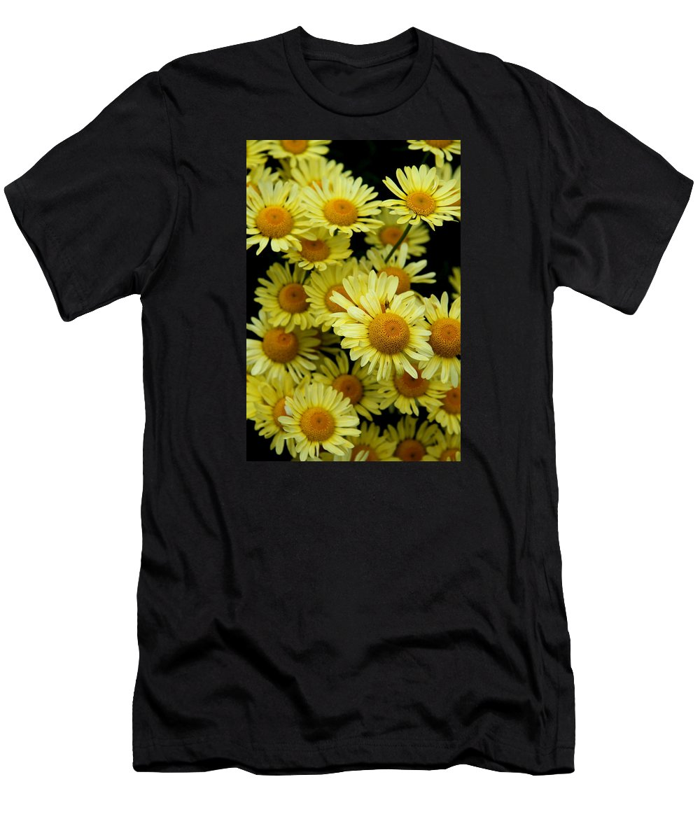 Marguerite Men's T-Shirt (Athletic Fit) featuring the photograph Ox Eye Daisies by Christiane Schulze Art And Photography