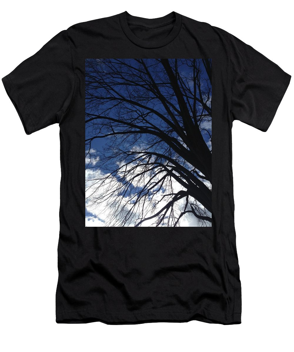 Clouds Men's T-Shirt (Athletic Fit) featuring the photograph Painted by Joseph Yarbrough
