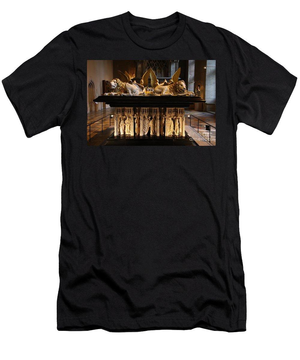 Museum T-Shirt featuring the photograph Palace Dijon - Salle de Gardes by Christiane Schulze Art And Photography