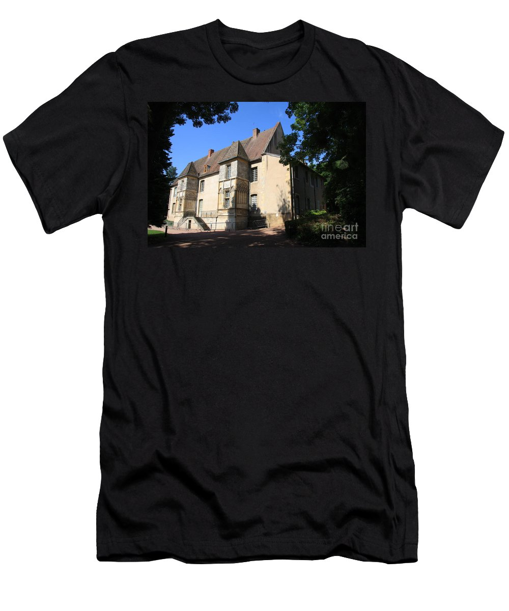 Palace T-Shirt featuring the photograph Palace of Abbot Jacques d'Amboise by Christiane Schulze Art And Photography