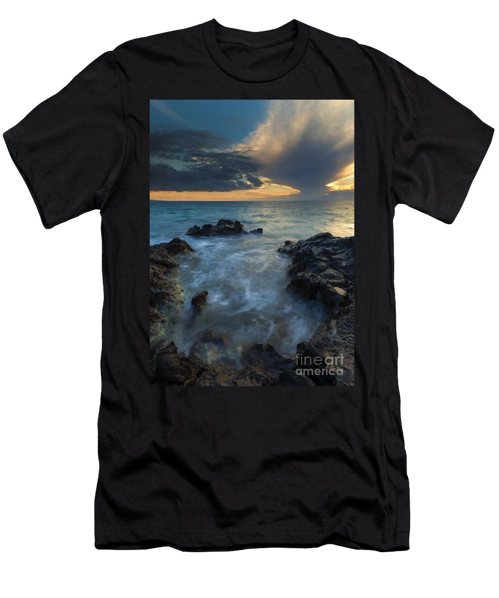 Paradise Men's T-Shirt (Athletic Fit) featuring the photograph Paradise Cloud Explosion by Mike Dawson