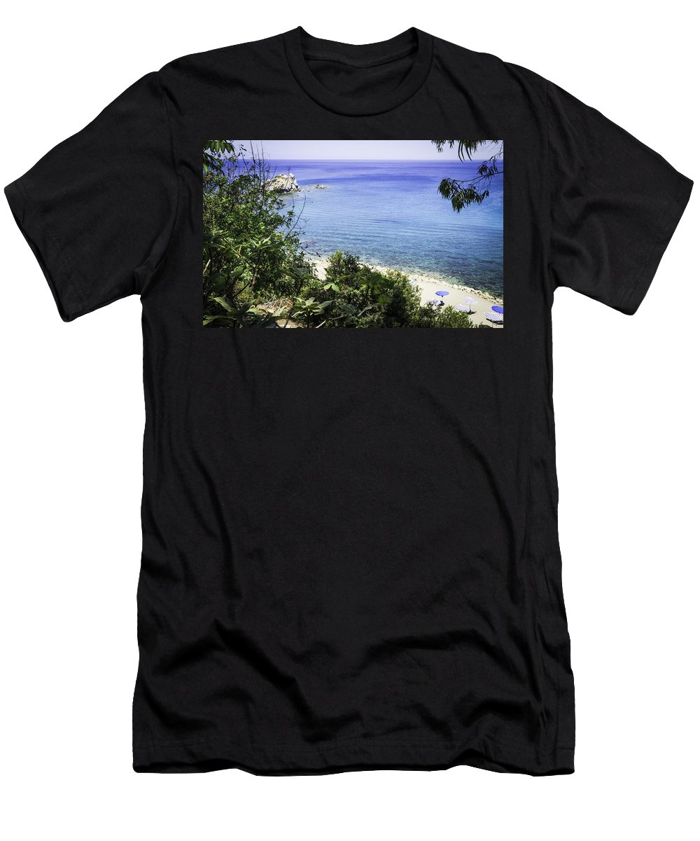 Sand Men's T-Shirt (Athletic Fit) featuring the photograph Paradise Found by Nick Field