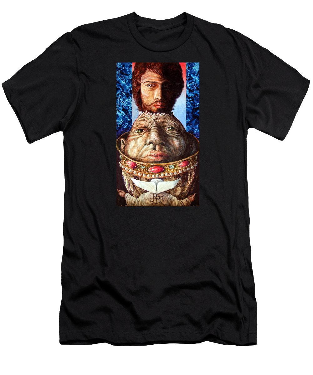 Surrealism T-Shirt featuring the painting Parthenogenesis II by Otto Rapp