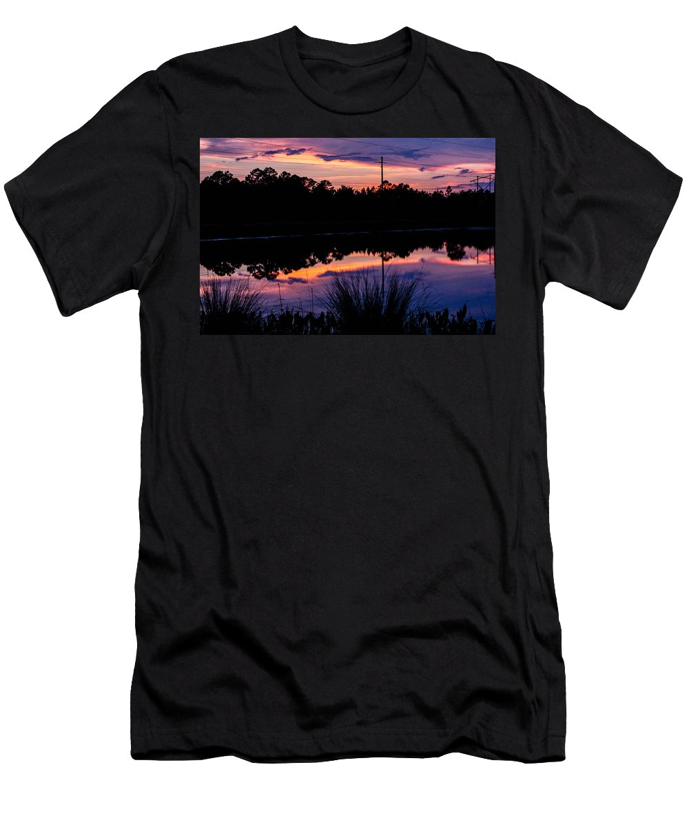 Men's T-Shirt (Athletic Fit) featuring the photograph Pastels by Tyson Kinnison