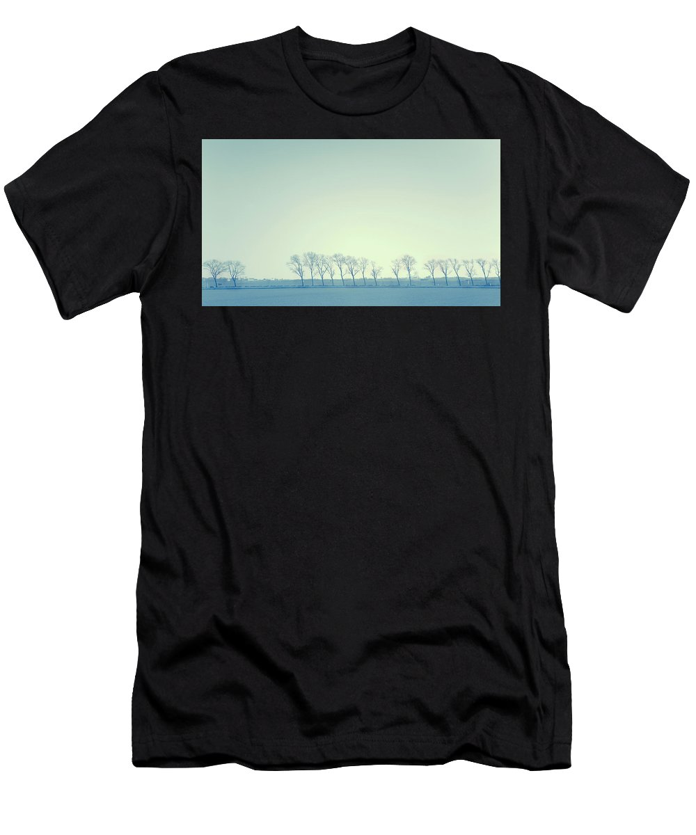 Netherlands Men's T-Shirt (Athletic Fit) featuring the photograph Patience Is The Key by Jenny Rainbow