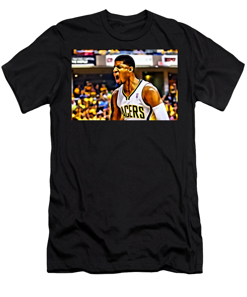 promo code 860a9 db90c Paul George Men's T-Shirt (Athletic Fit)