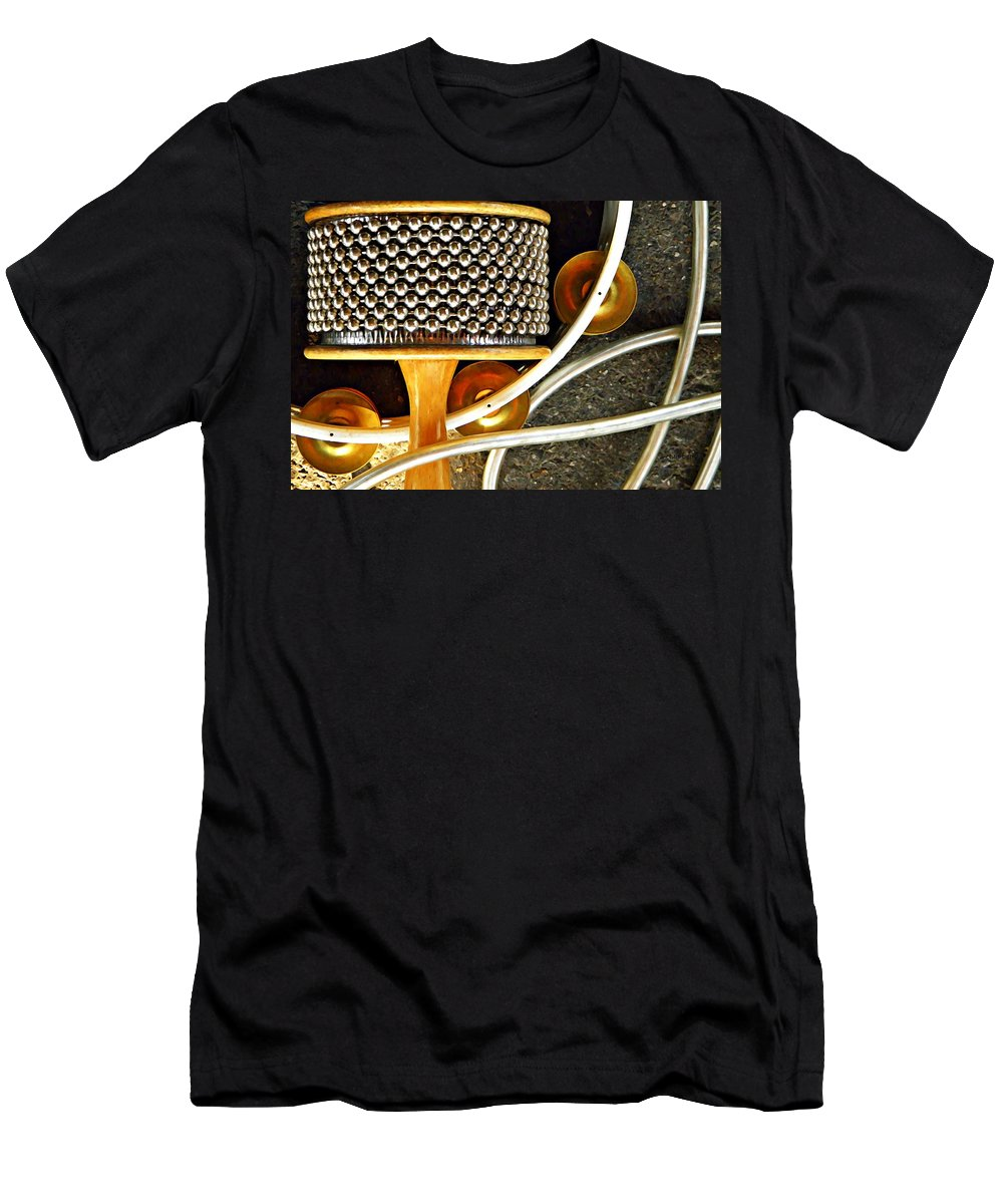 Men's T-Shirt (Athletic Fit) featuring the photograph Percussion by Chris Berry