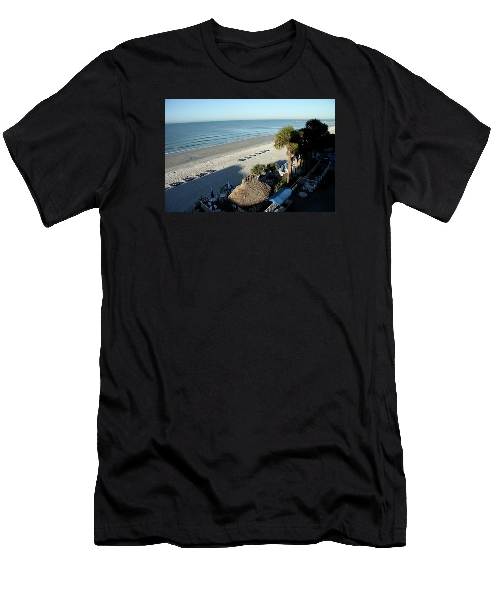 Beach Men's T-Shirt (Athletic Fit) featuring the photograph Perfect Beach Day by Christiane Schulze Art And Photography