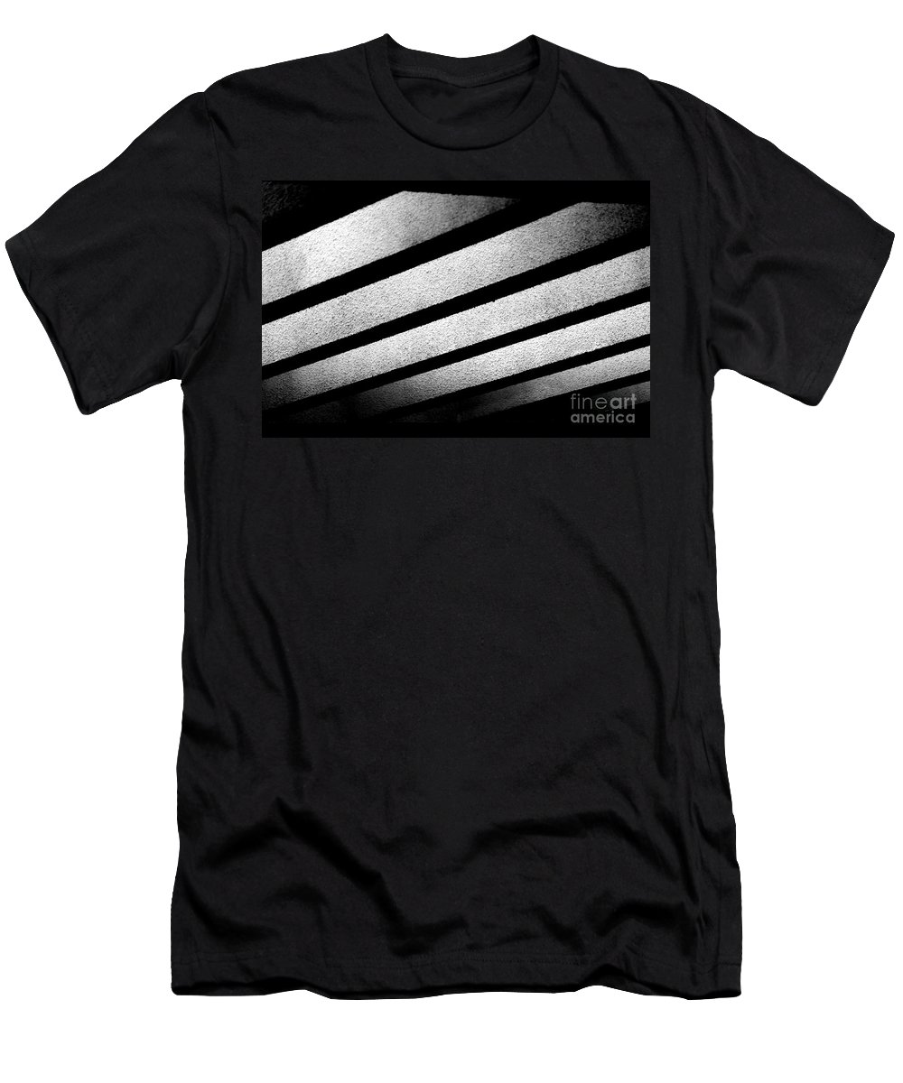 Play Of Light Men's T-Shirt (Athletic Fit) featuring the photograph Play Of Light by Dattaram Gawade
