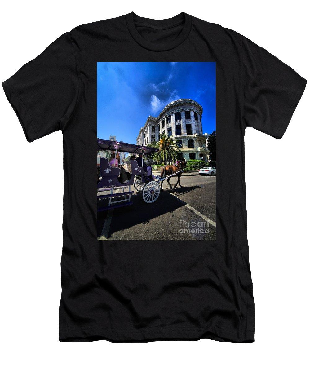 Landscapes Men's T-Shirt (Athletic Fit) featuring the photograph Pleasure Cruise by Robert McCubbin