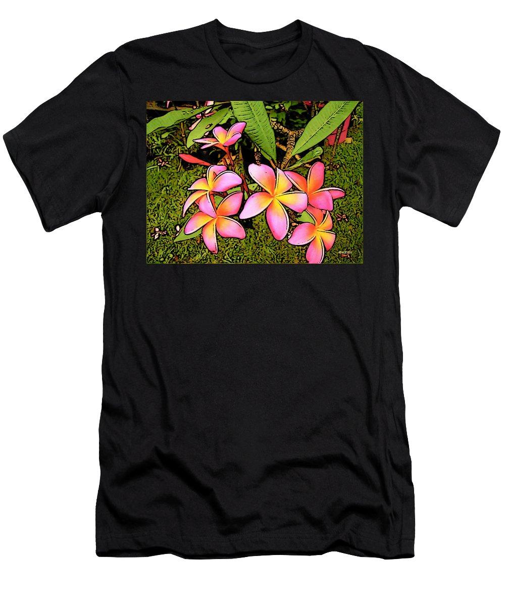 Plumeria Men's T-Shirt (Athletic Fit) featuring the photograph Plumeria by Rebecca Korpita
