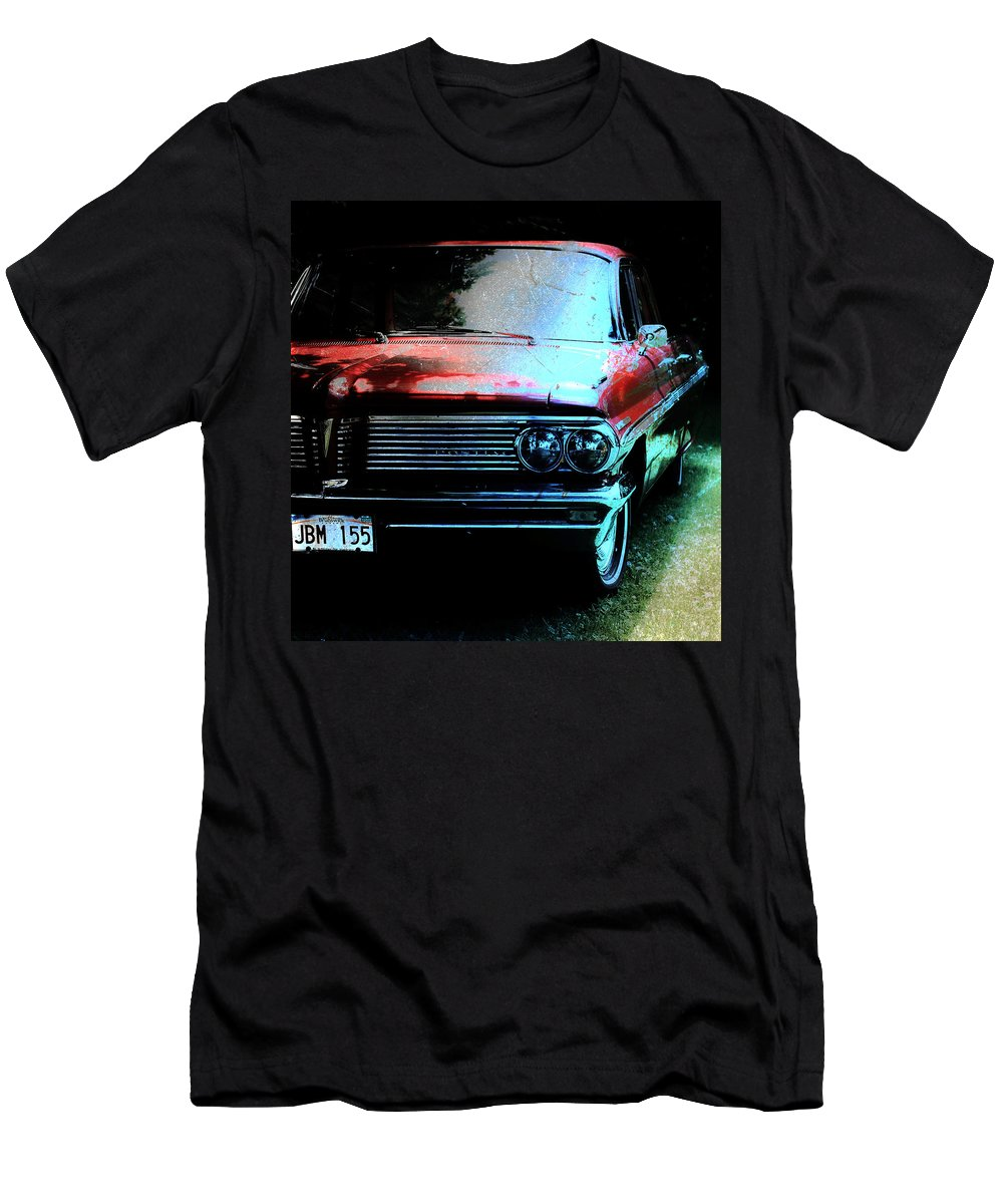 Pontiac Men's T-Shirt (Athletic Fit) featuring the photograph Pontiac Shade N Sun by The Artist Project