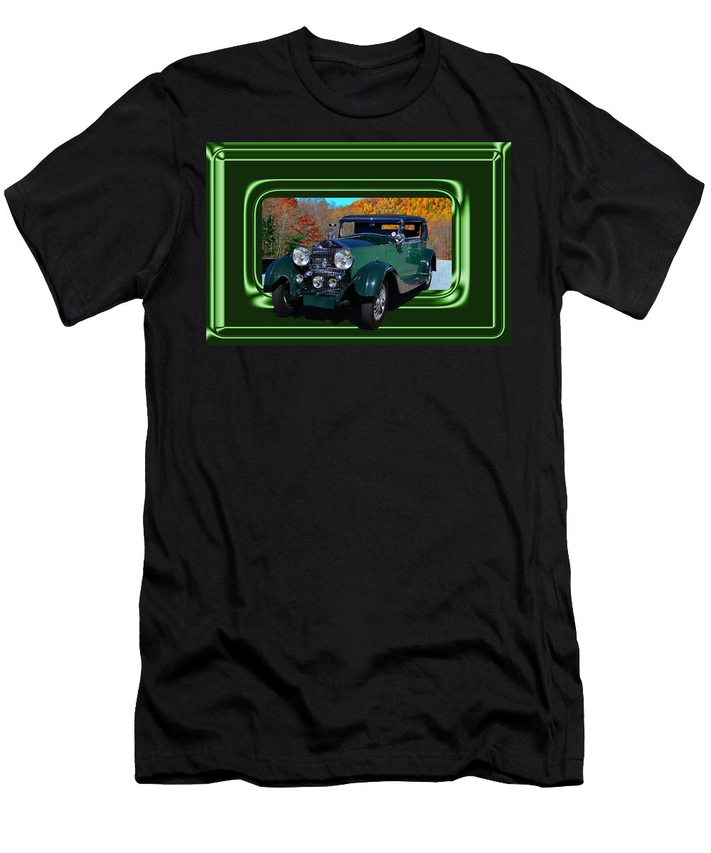 Rolls Men's T-Shirt (Athletic Fit) featuring the photograph Pretentious by Larry Bishop