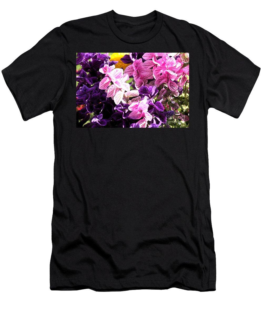 Flowers Men's T-Shirt (Athletic Fit) featuring the photograph Ooo La La by Flamingo Graphix John Ellis