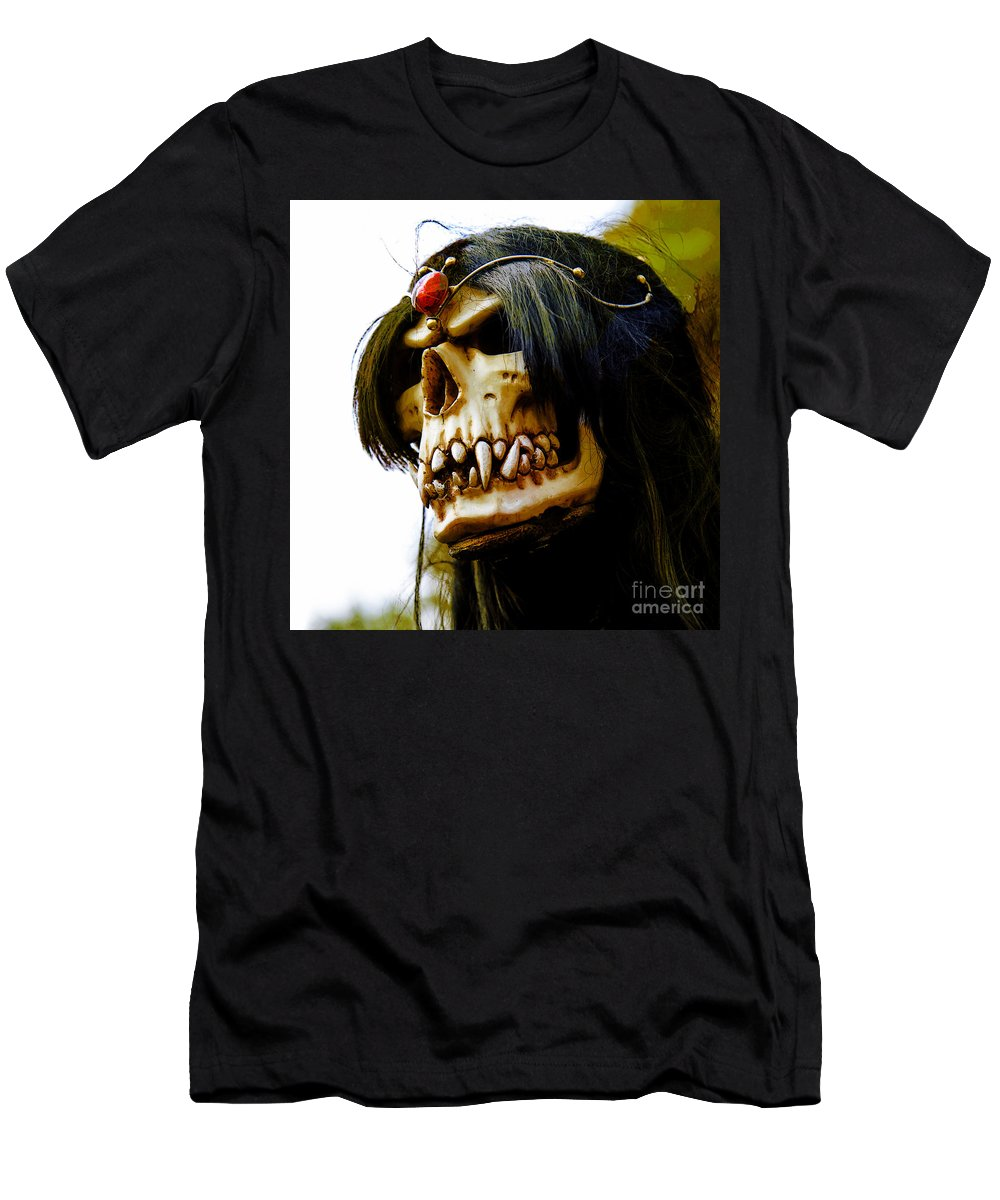 Arkonia Men's T-Shirt (Athletic Fit) featuring the photograph 10007 Queen Astra Of Arkonia by Colin Hunt