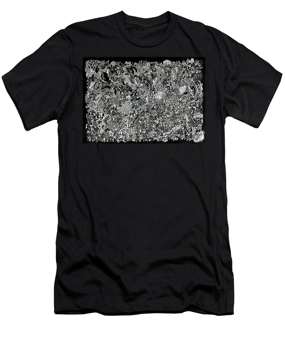 Black Men's T-Shirt (Athletic Fit) featuring the photograph Quork by Mark Blauhoefer
