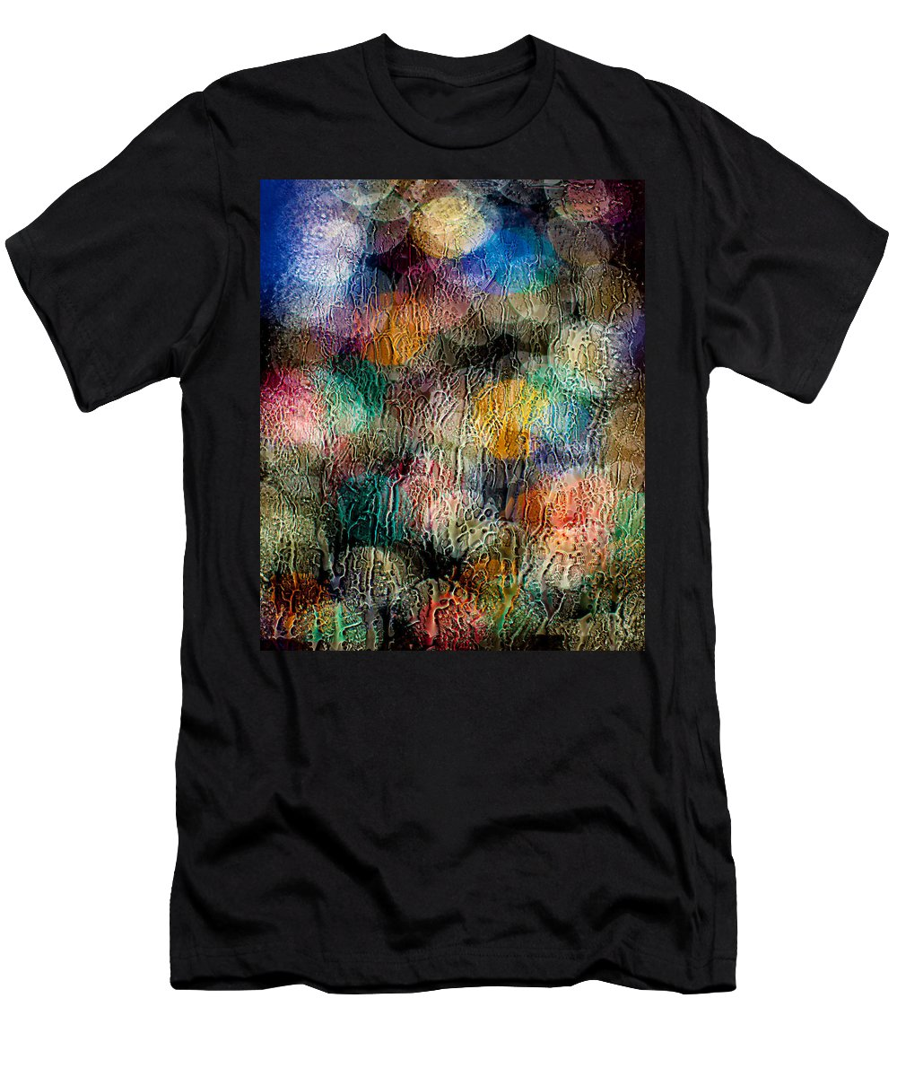 Christmas Men's T-Shirt (Athletic Fit) featuring the photograph Rainy Day Christmas by Aaron Aldrich