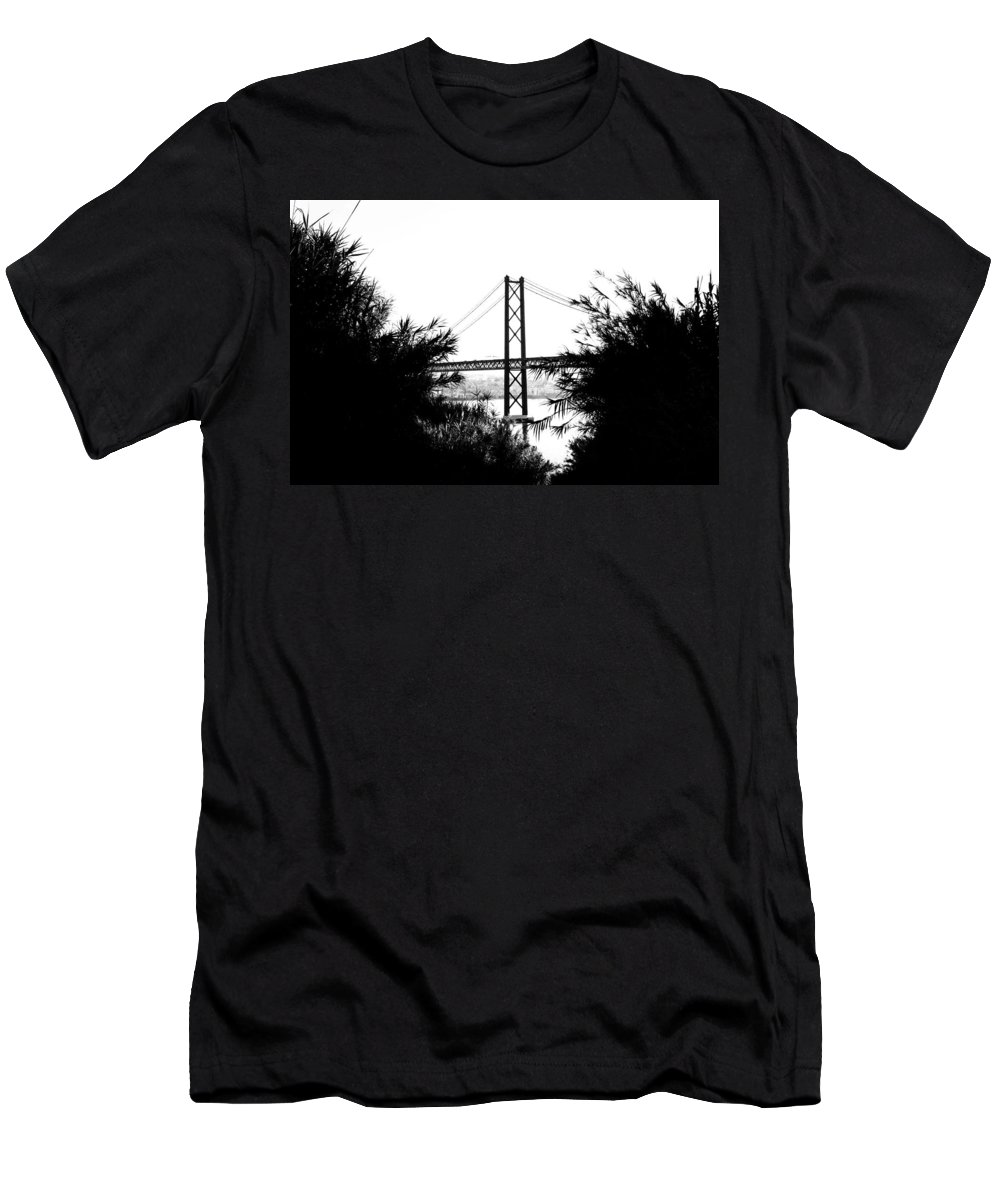 Daybreak Men's T-Shirt (Athletic Fit) featuring the photograph Rambling Through The Undergrowth by Marco Oliveira