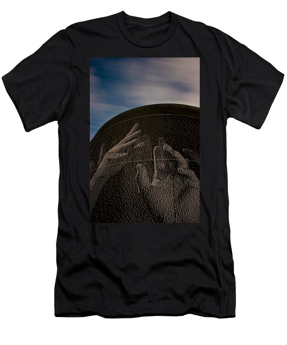 San Jose Men's T-Shirt (Athletic Fit) featuring the photograph Reach For The Sky by Dayne Reast