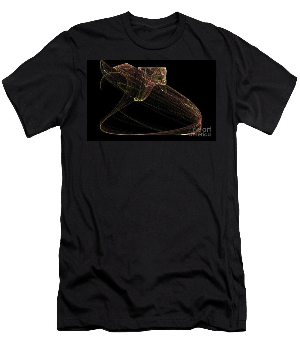 Snake Men's T-Shirt (Athletic Fit) featuring the digital art Ready To Strike by Sara Raber