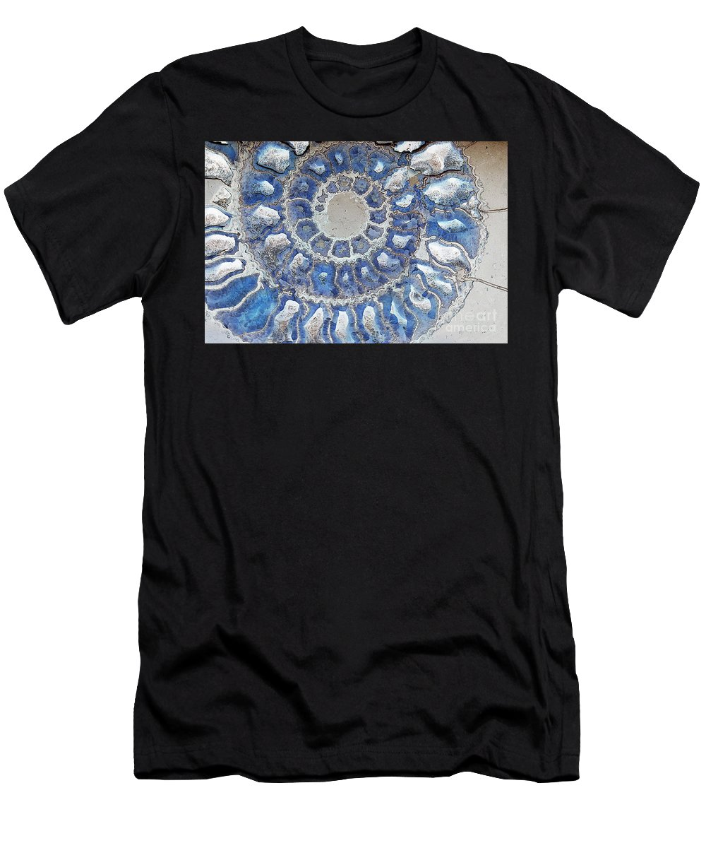 Blue Men's T-Shirt (Athletic Fit) featuring the photograph Recurring Dreams by Joe Jake Pratt