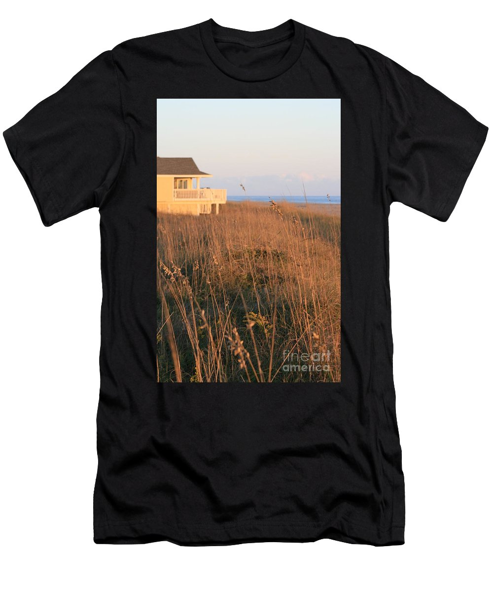 Relaxation Men's T-Shirt (Athletic Fit) featuring the photograph Relaxation by Nadine Rippelmeyer