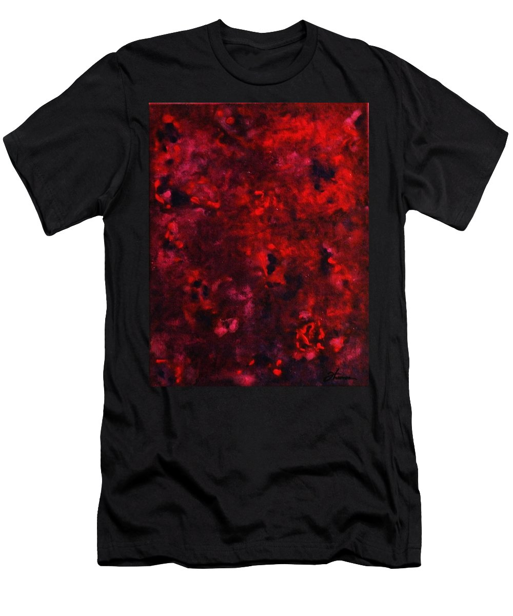 Acrylic Men's T-Shirt (Athletic Fit) featuring the painting Remembrance by Todd Hoover