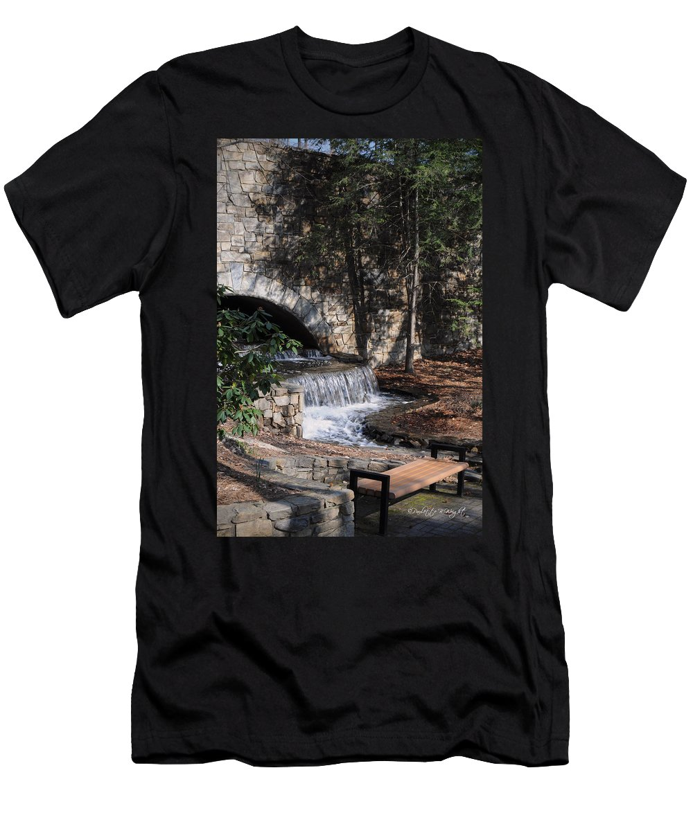 Feature Art Men's T-Shirt (Athletic Fit) featuring the photograph Resting Place by Paulette B Wright