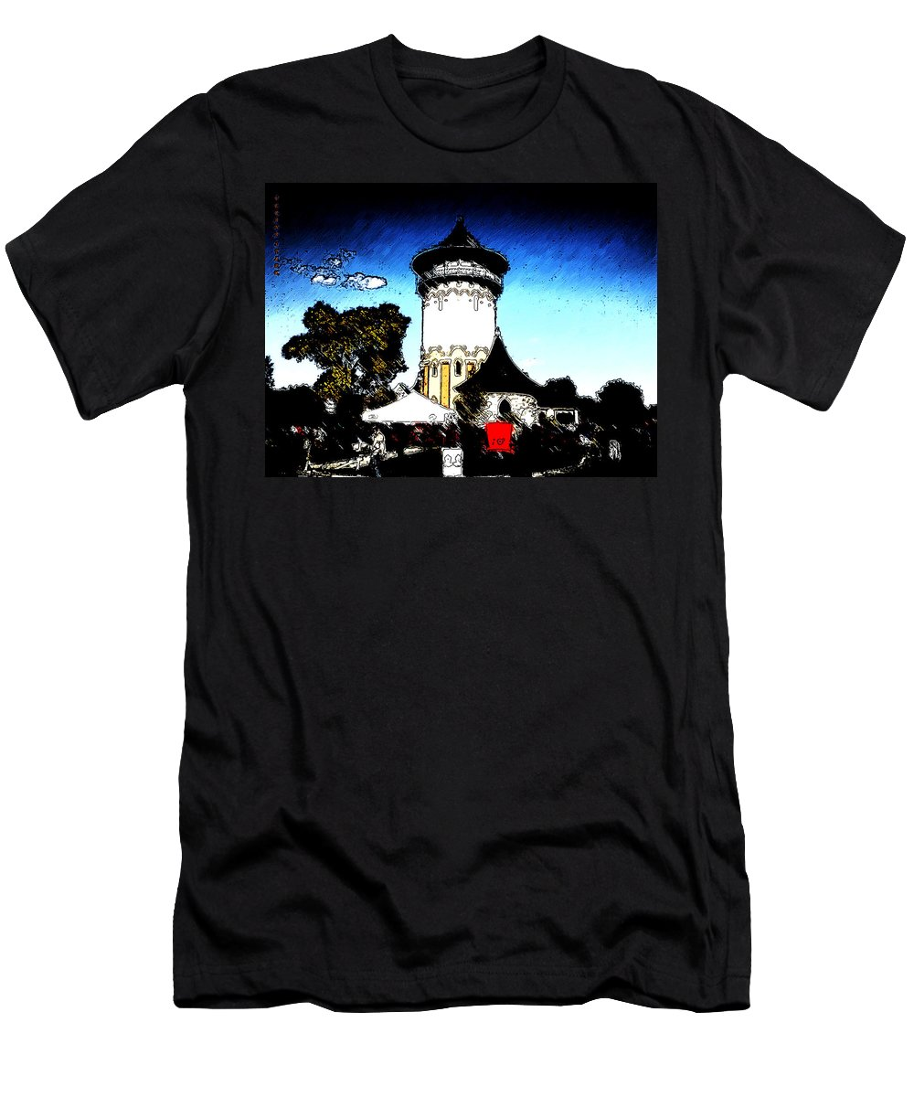 Riverside Men's T-Shirt (Athletic Fit) featuring the photograph Riverside by Verana Stark