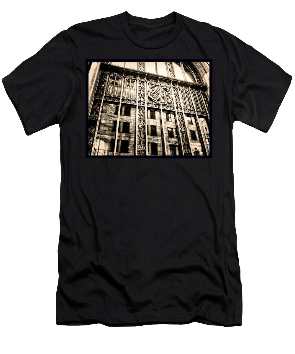 Montreal Men's T-Shirt (Athletic Fit) featuring the photograph Rm Montreal by Shawn Dall