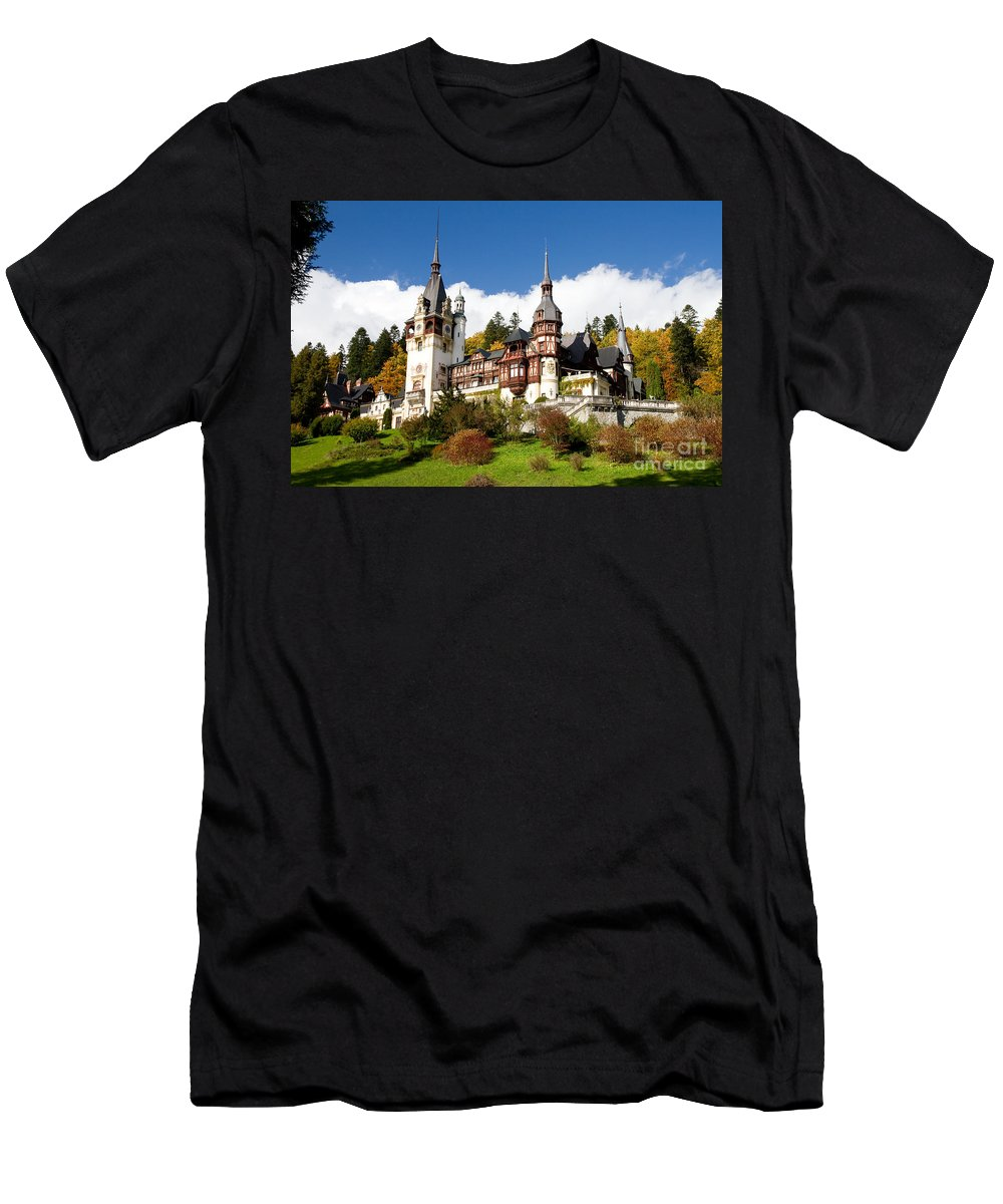 ace3131e30f2 Hohenzollern Men s T-Shirt (Athletic Fit) featuring the digital art Romania  King Carol